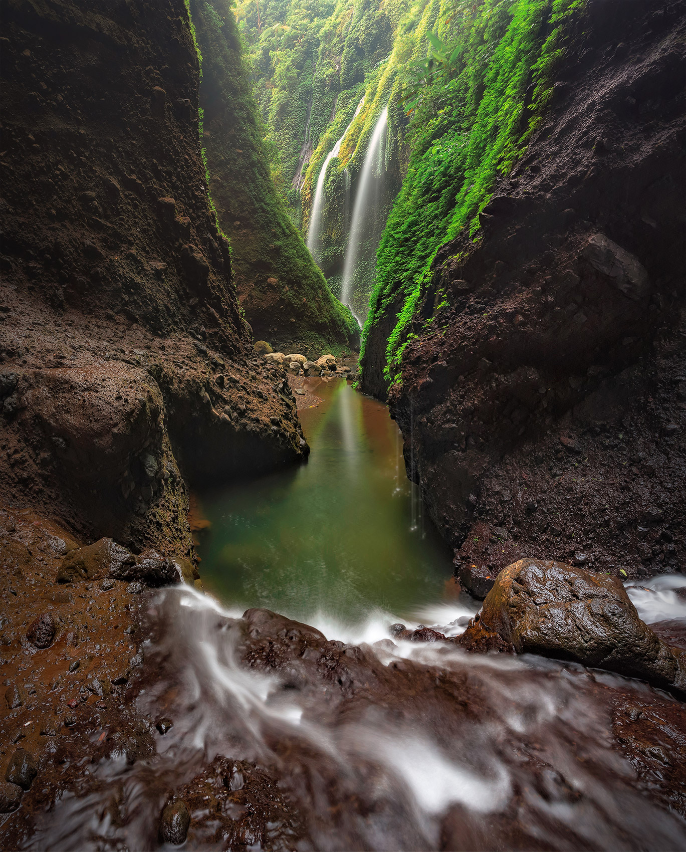 waterfall-valley